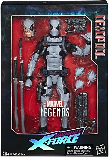 Marvel Legends Deadpool Exclusive Deluxe Collector Action Figure [Uncanny X-Men]