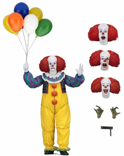 NECA IT Movie (1990) Pennywise Action Figure [Tim Curry]