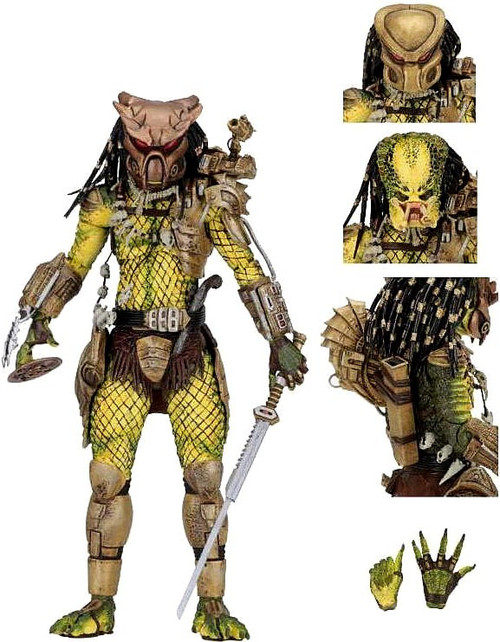 NECA Predator Elder: The Golden Angel Action Figure [Ultimate Version]