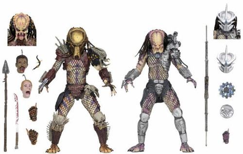 NECA Predator Bad Blood & Enforcer Action Figure 2-Pack [Ultimate Versions]