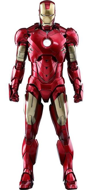 Marvel Iron Man 2 Movie Masterpiece Diecast Iron Man Mark IV Collectible Figure MMS461D21