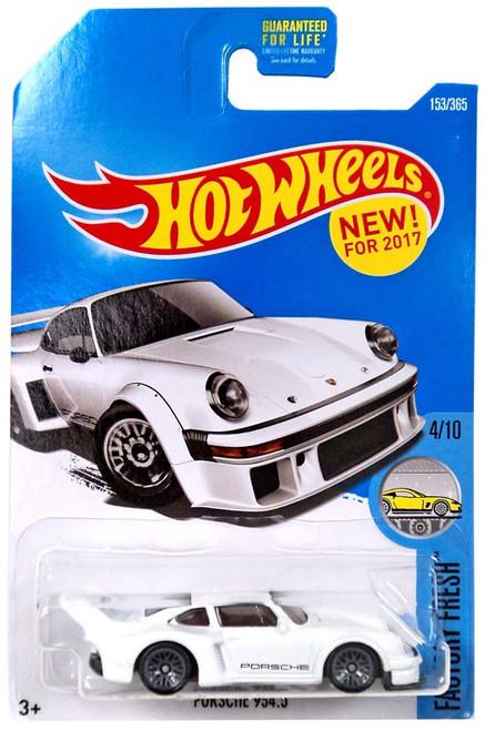 Hot Wheels Factory Fresh Porsche 935.5 Die-Cast Car #4/10