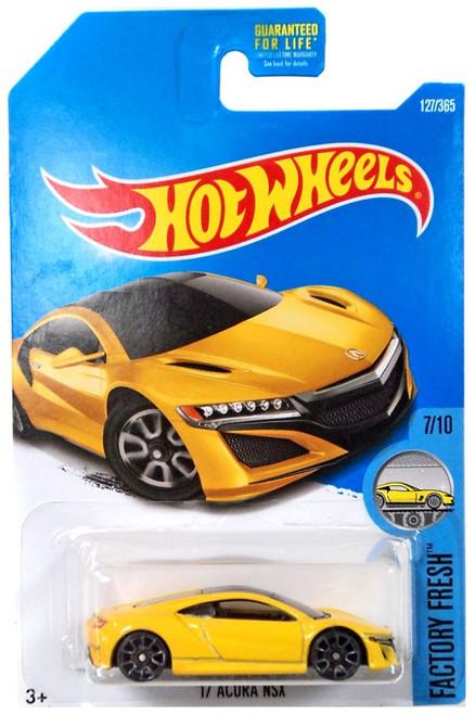 Hot Wheels Factory Fresh '17 Acura NSX Die-Cast Car #7/10