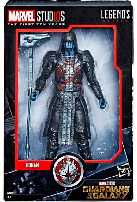Guardians of the Galaxy Marvel Studios: The First Ten Years Marvel Legends Ronan the Accuser Action Figure