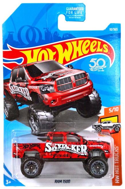 Hot Wheels 50th Anniversary HW Hot Trucks Dodge Ram 1500 Die-Cast Car FJW58 [5/10]