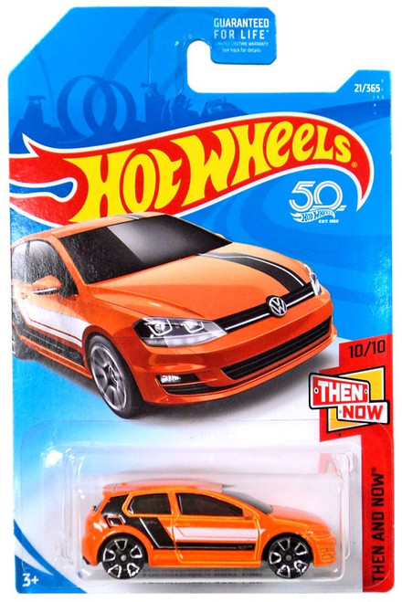 Hot Wheels 50th Anniversary Then and Now Volkswagen Golf Mk7 Diecast Car FJX96 [10/10]