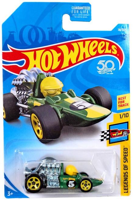 Hot Wheels 50th Anniversary Legends of Speed Head Starter Die-Cast Car FJW05 [1/10]