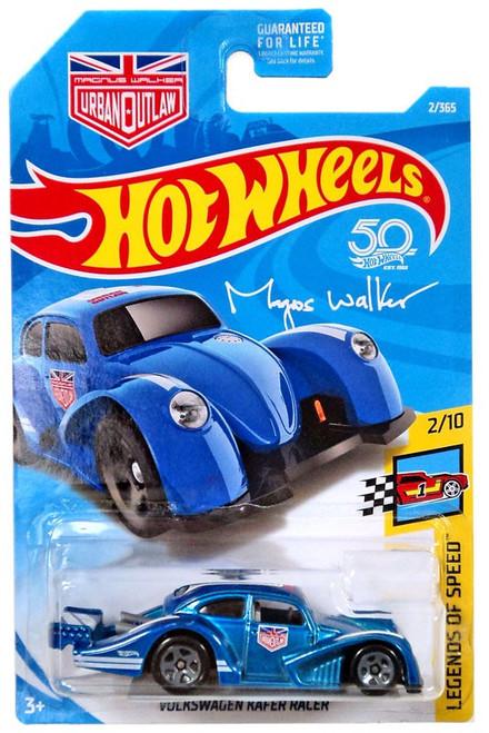 Hot Wheels 50th Anniversary Legends of Speed Volkswagen Kafer Racer Diecast Car #2/10 [Blue]