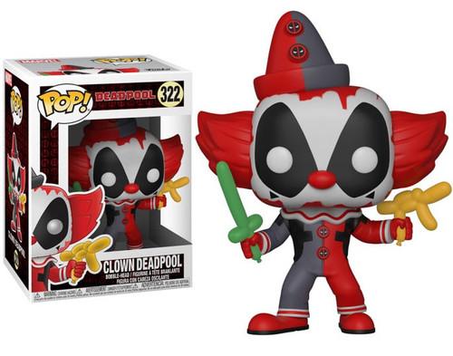 Funko POP! Marvel Deadpool as Clown Vinyl Bobble Head