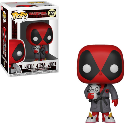Funko POP! Marvel Bedtime Deadpool Vinyl Bobble Head #327