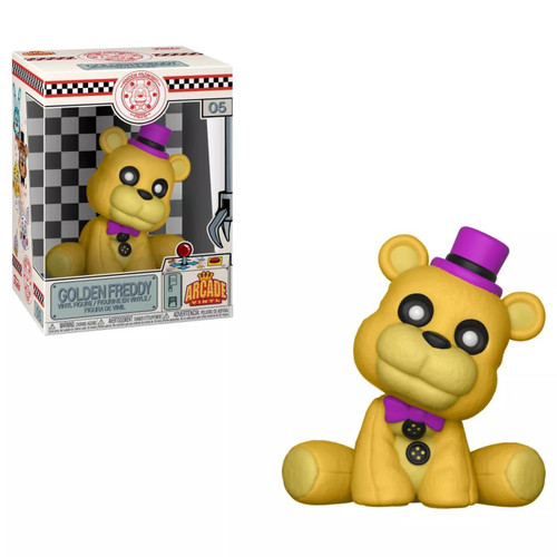 Funko Five Nights at Freddy's Freddy's Fazbear's Pizza Golden Freddy Arcade Vinyl Figure #05