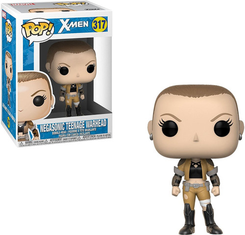Funko X-Men POP! Marvel Negasonic Teenage Warhead Vinyl Bobble Head #317