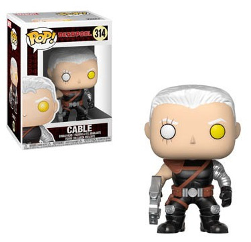Funko Deadpool POP! Marvel Cable Vinyl Bobble Head #314