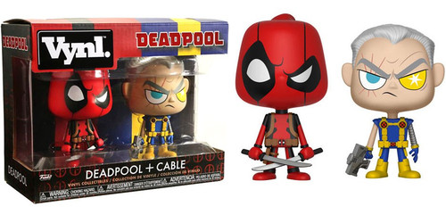 Funko Vynl. Deadpool & Cable Vinyl Figure 2-Pack