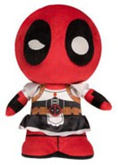 Funko Marvel SuperCute Deadpool as Maid Plush