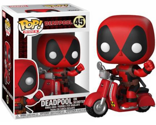 Funko Marvel POP! Rides Deadpool Vinyl Figure #48 [On Scooter]