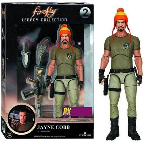 Funko Firefly Legacy Collection Jayne Cobb Exclusive Action Figure #2 [Hat Variant, Damaged Package]