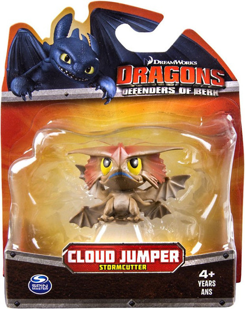 How to Train Your Dragon Dragons Defenders of Berk Cloud Jumper 3-Inch Mini Figure [Stormcutter, Damaged Package]
