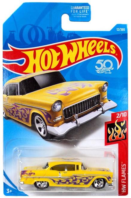 Hot Wheels HW Flames '55 Chevy Die-Cast Car FJW61 [2/10]
