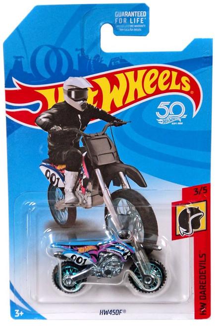 Hot Wheels HW Daredevils HW450F Die-Cast Vehicle JFX52 [3/5]