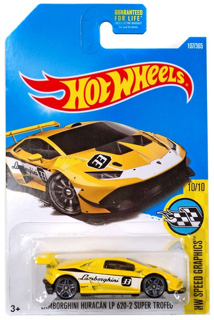 Hot Wheels HW Speed Graphics Lamborghini Huracan LP 620-2 Super Trofeo Die-Cast Car DTX66 [10/10]