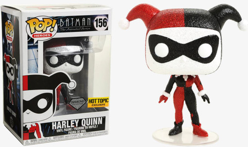 Funko DC Batman The Animated Series POP! Heroes Harley Quinn Exclusive Vinyl Figure #156 [Diamond Collection]
