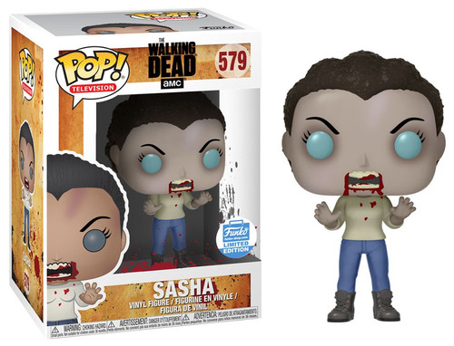 Funko The Walking Dead POP! TV Sasha Exclusive Vinyl Figure #579 [Zombie]