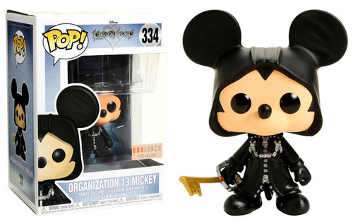 Funko Kingdom Hearts POP! Disney Organization 13 Mickey Exclusive Vinyl Figure #334 [Glow-in-the-Dark]