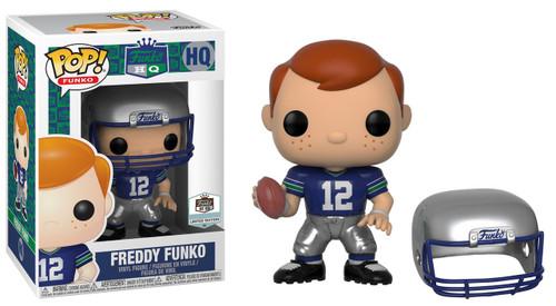 POP! Funko Freddy Funko Football Throwback Exclusive Vinyl Figure HQ