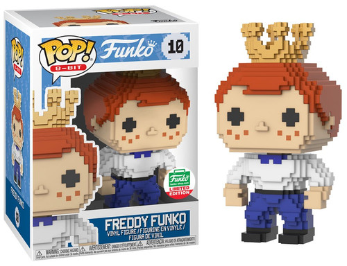 POP! 8-Bit Freddy Funko Exclusive Vinyl Figure #10
