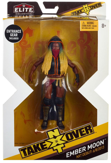 WWE Wrestling Elite NXT Takeover Ember Moon Action Figure