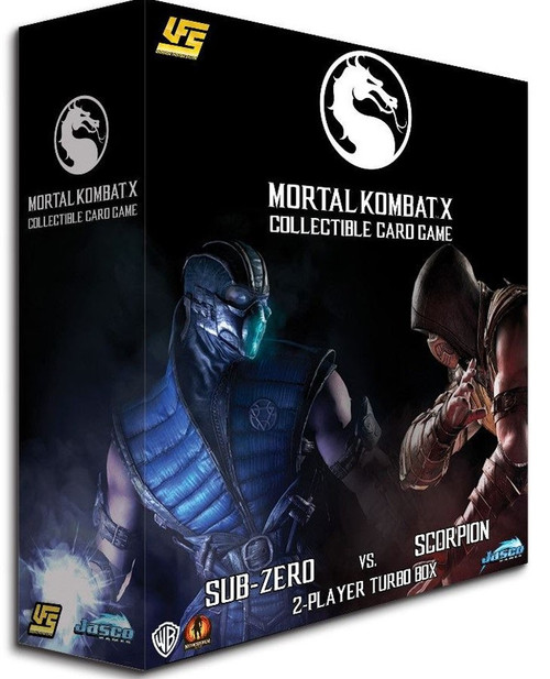 UFS Collectible Card Game Mortal Kombat X 2-Player Starter Turbo Box [Sub-Zero Vs. Scorpion]