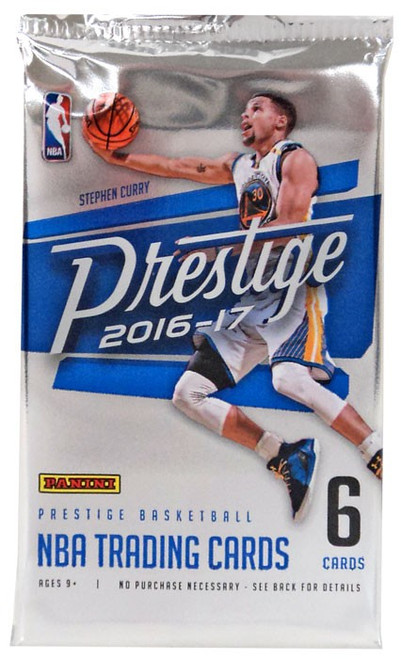 NBA Panini 2016-17 Prestige Basketball Trading Card Pack [6 Cards!]