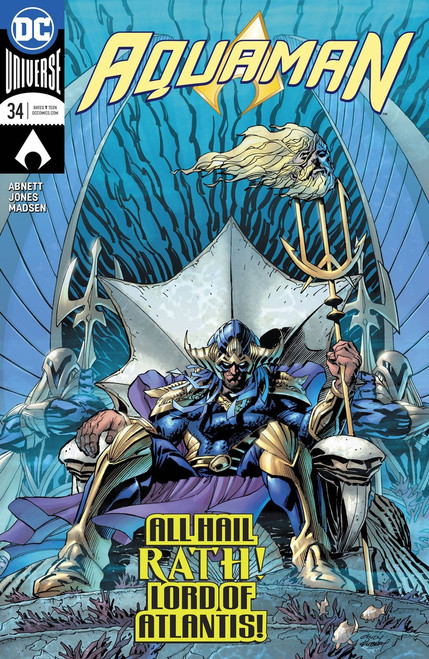 DC Aquman #34 Comic Book