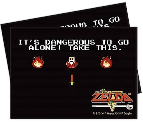 Ultra Pro Card Supplies Legend of Zelda Dangerous Standard Card Sleeves [65 Count]