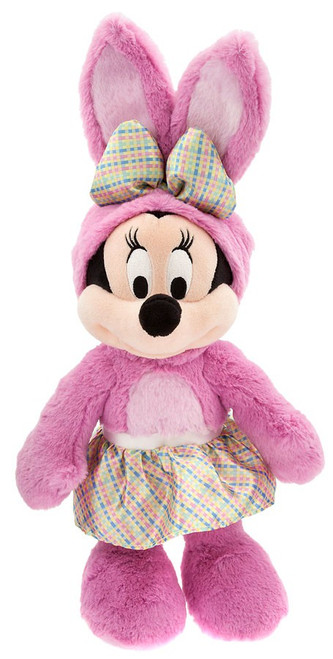 Disney 2018 Easter Minnie Mouse Exclusive 14-Inch Plush [Pink Bunny Costume]