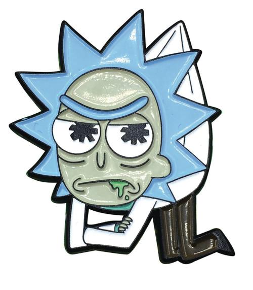 Rick & Morty Hanging Rick 1-Inch Enamel Pin