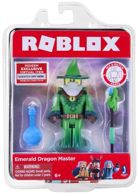 Roblox Emerald Dragon Master Action Figure