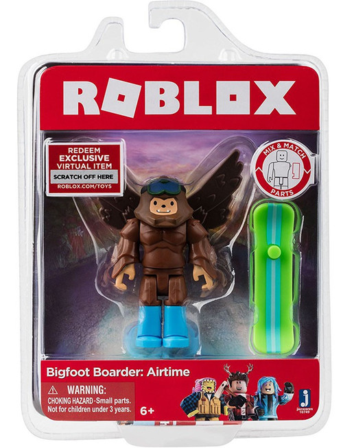 Roblox Bigfoot Boarder: Airtime Action Figure
