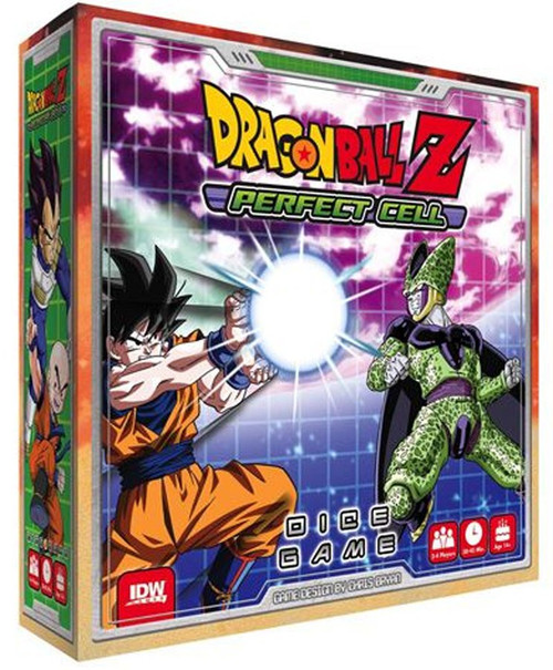 Dragon Ball Z Super Cell Dice Game
