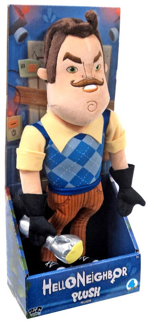 Hello Neighbor The Neighbor with Flashlight 15-Inch Plush