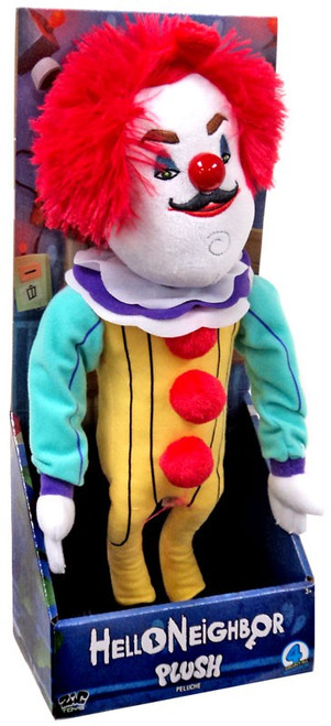 Hello Neighbor The Neighbor in Clown Costume 15-Inch Plush