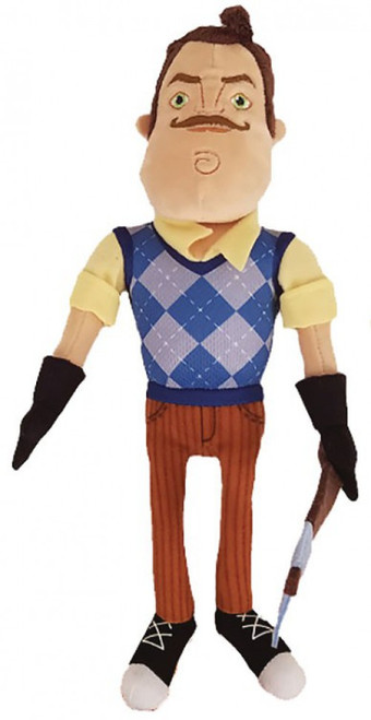 Hello Neighbor The Neighbor with Axe 10-Inch Plush
