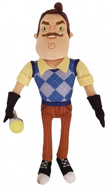 Hello Neighbor The Neighbor with Flashlight 10-Inch Plush
