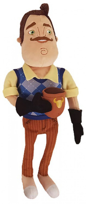 Hello Neighbor The Neighbor with Coffee Mug 10-Inch Plush