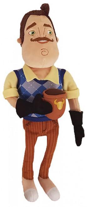Hello Neighbor The Neighbor with Coffee Mug 10-Inch Plush