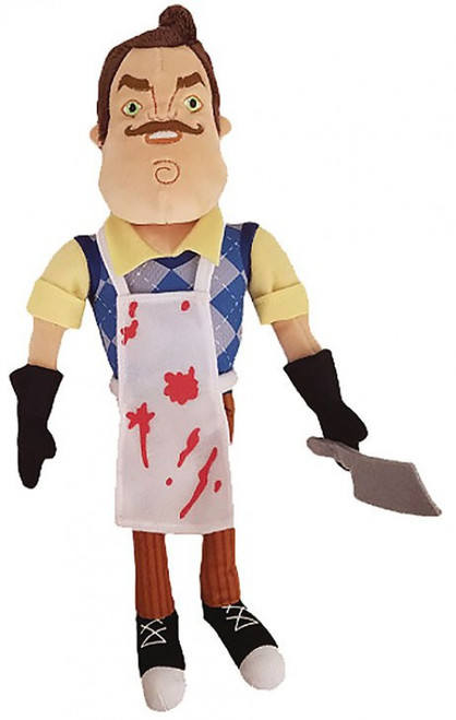 "Hello Neighbor The Neighbor with Apron & Cleaver 10-Inch Plush [10""]"