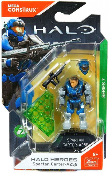 Halo Heroes Series 7 Spartan Carter-A259 Mini Figure