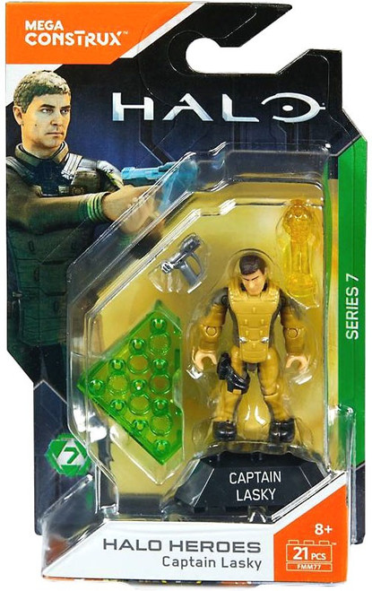 Halo Heroes Series 7 Capain Lasky Mini Figure