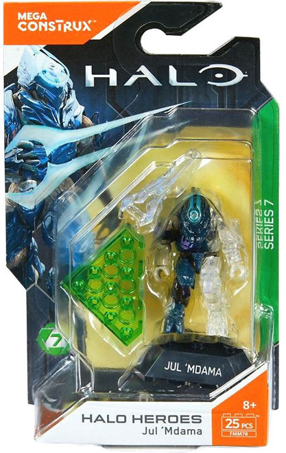 Halo Heroes Series 7 Jul 'Mdama Mini Figure